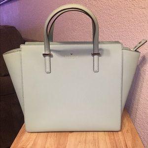 Kate spade mint colored purse